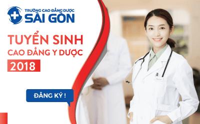 Trường Cao đẳng Dược Sà i Gòn tuyển sinh Cao đẳng Y Dược Sà i Gòn