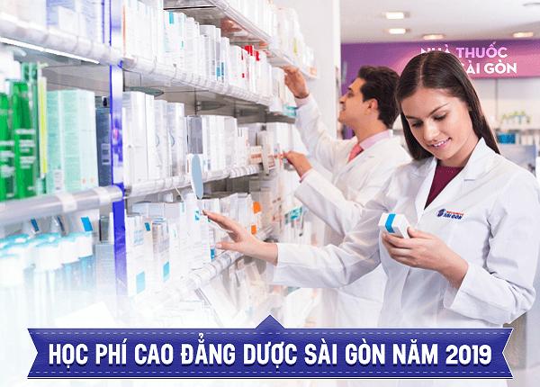 Học phí cao đẳng Dược Sài Gòn năm 2019