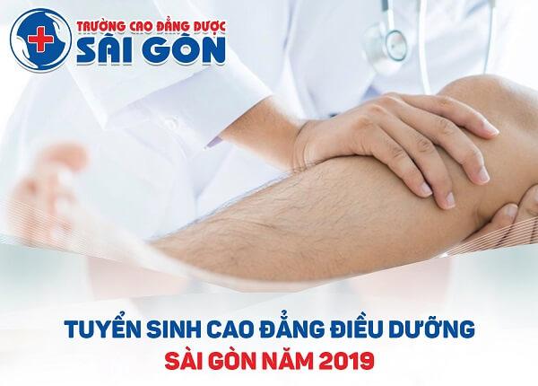 tuyen-sinh-cao-dang-dieu-duong-sai-gon-nam-2019