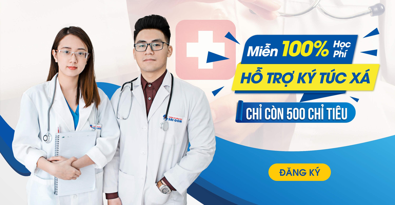 Trường Cao đẳng Dược Sài Gòn miễn 100% học phí năm 2019